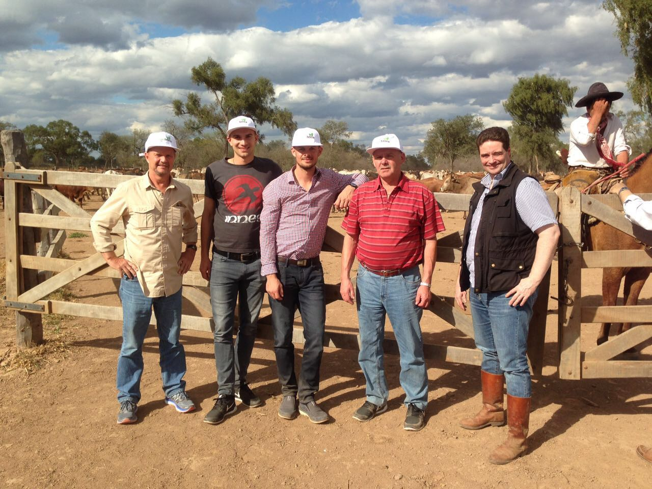 Paraguay cattle raising opportunity - visitors