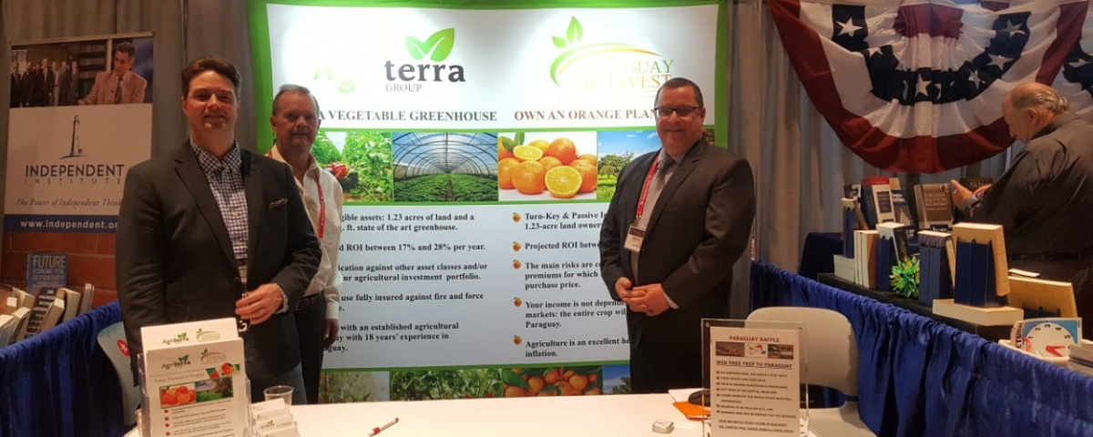 Paraguay AG Invest and Agri Terra at FreedomFest 2018