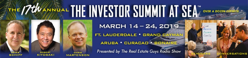 The Real Estate Guys Investor Summit at Sea Cruise 2019