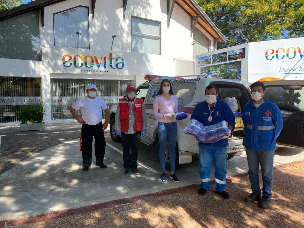 April 2020 AgriTerra Red Cross Paraguay food donation