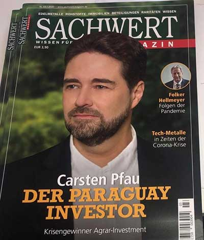 Carsten Pfau Agri Terra on cover of Sachwert